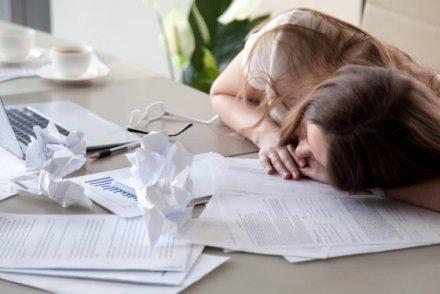 沒睡好容易造成工作意外!